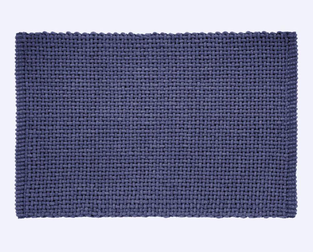 Covoas baie albastru 406 Noa 45x70 cm