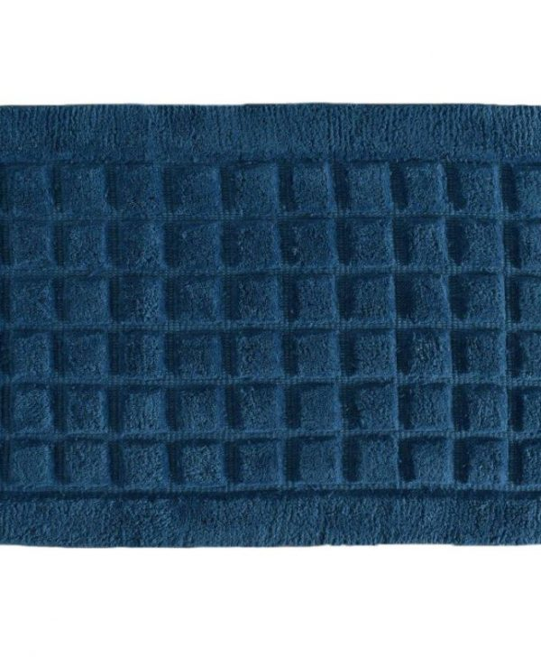 Covoras albastru baie 400 Damas Navy 50x80 cm