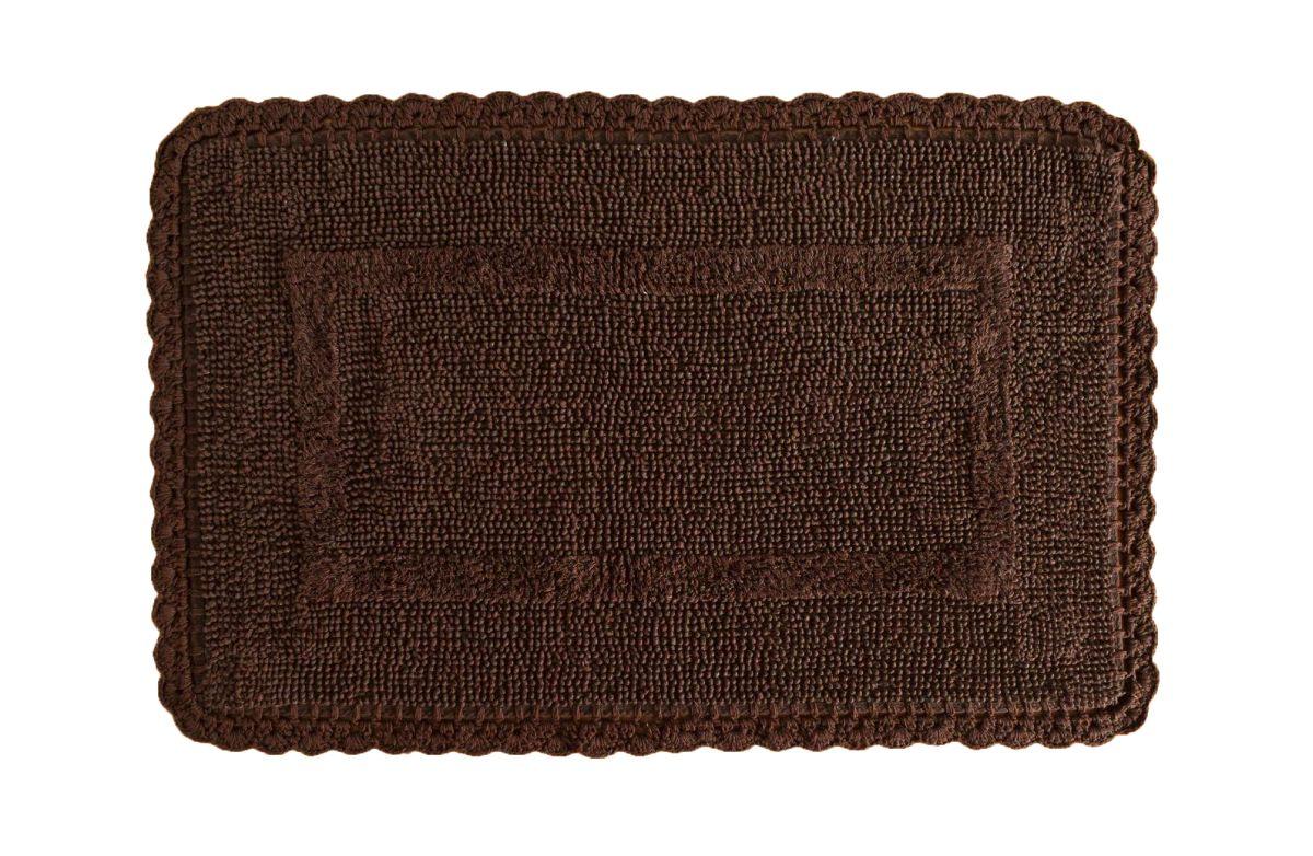 Covoras maro baie 401 Crochet 05 Marron 50x80 cm