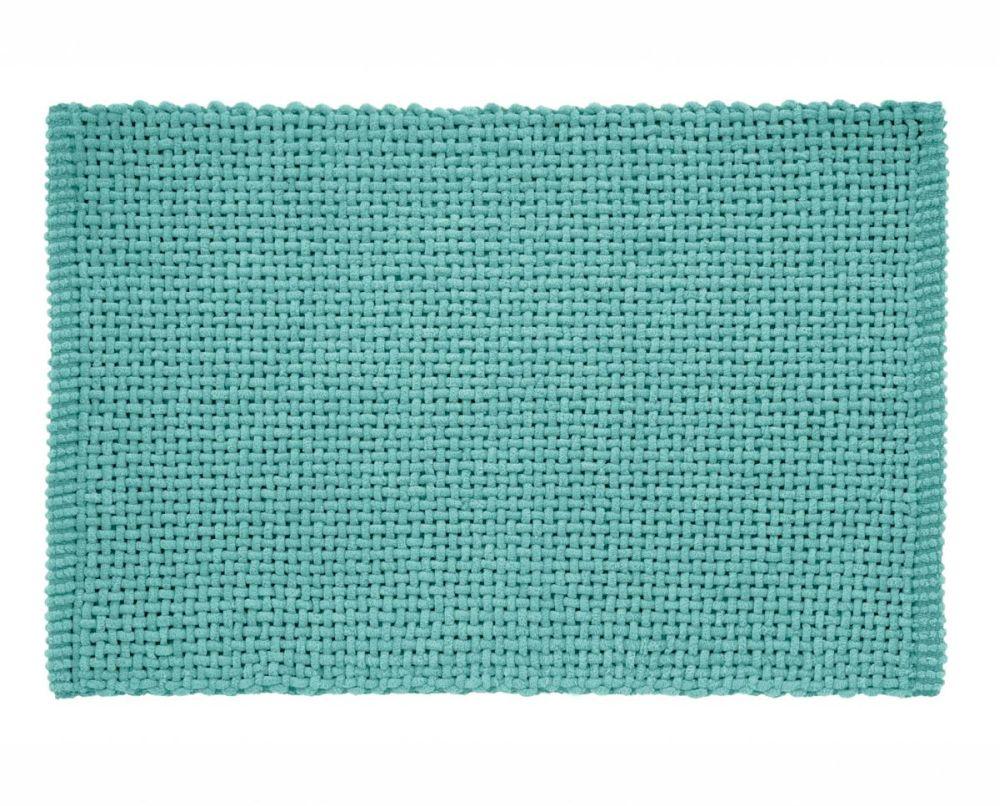 Covoras turcoaz baie 406 Noa 45x70 cm