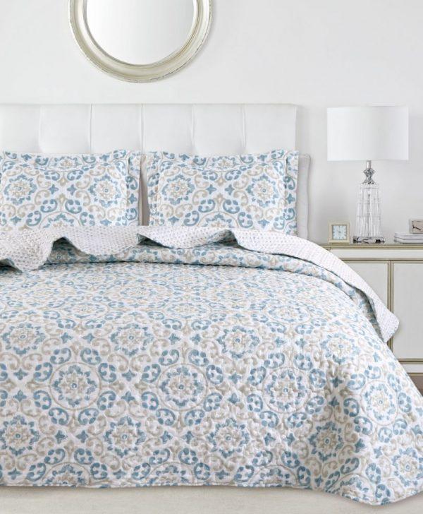 Cuvertura pat dormitor 7877 Marena 235x270 cm