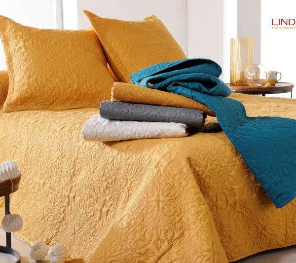 Cuvertura pat dormitor ivoire clasica Ceylan 5053 230x250 cm