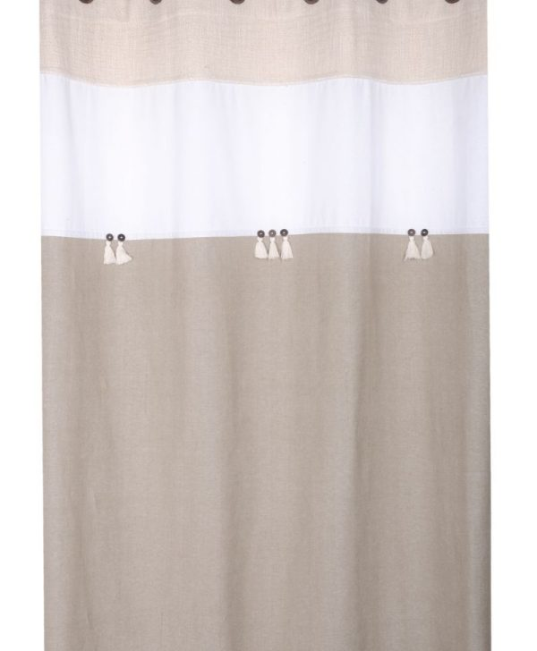 Draperie living bumbac Albertine Naturel 140x260 cm