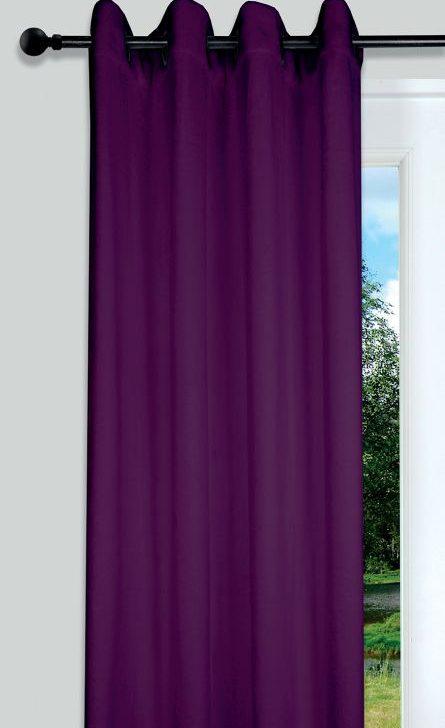 Draperie mov Doudou Violet 135x250 cm