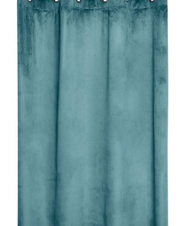 Draperie turcoaz inchis Danae Celadon 140X260 cm