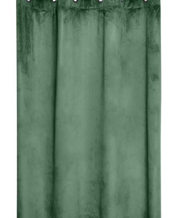 Draperie verde inchis Danae Vegetal 140X260 cm