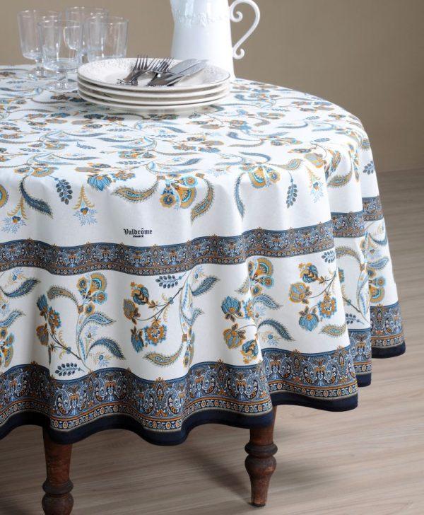 Fata masa eleganta Bastide Bleu 160X160 cm