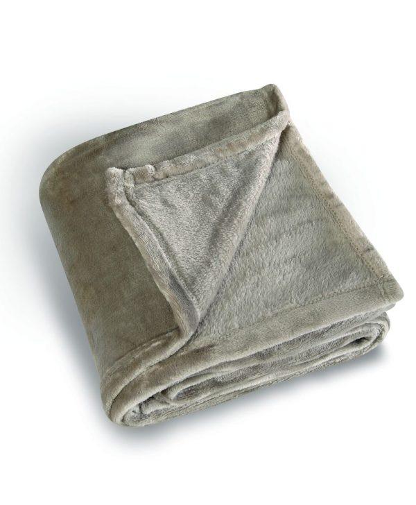 Patura grej pufoasa 5047 Cocoon 130x180 cm