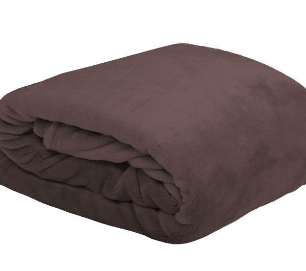 Patura maro soft 5792 Doudou Chocolat 130x160 cm