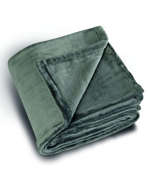 Patura pufoasa gri inchis 5047 Cocoon 92 130x180 cm