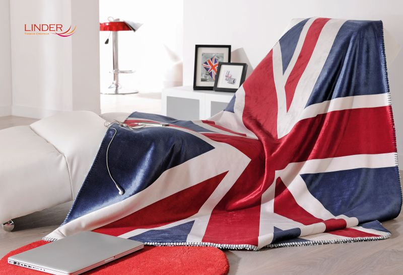 Patura steag UK calduroasa Union Jack 5046 130x150 cm (Franta)
