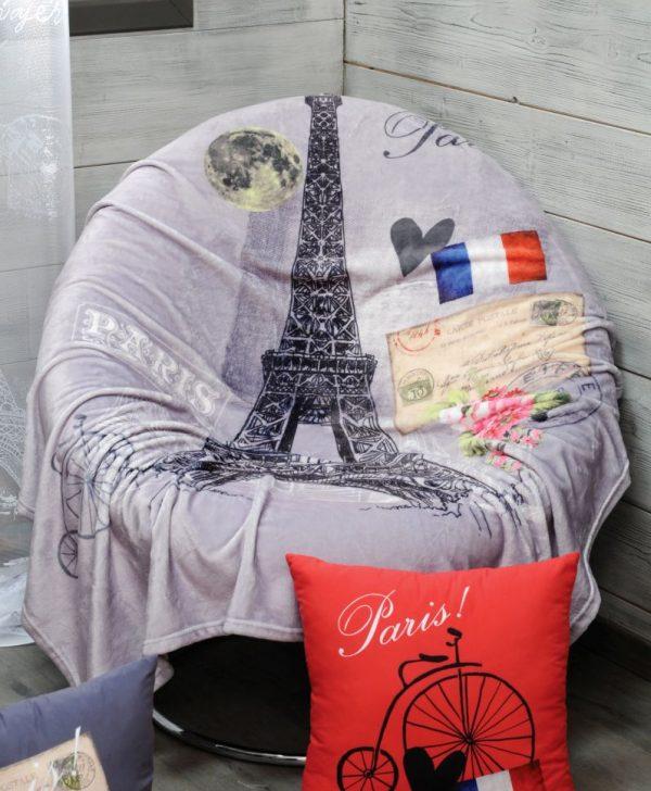 Patura turn Eiffel Paris Metropole130x160 cm