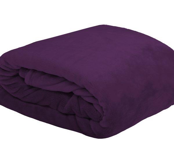 Patura violet soft 5792 Doudou Violet 130x160 cm