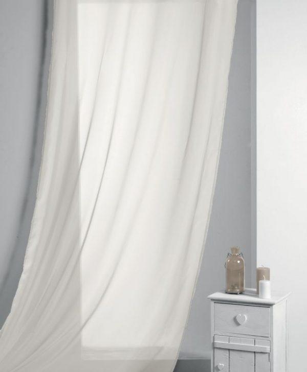 Perdea bej confectionata Lisa Ecru 135x260 cm
