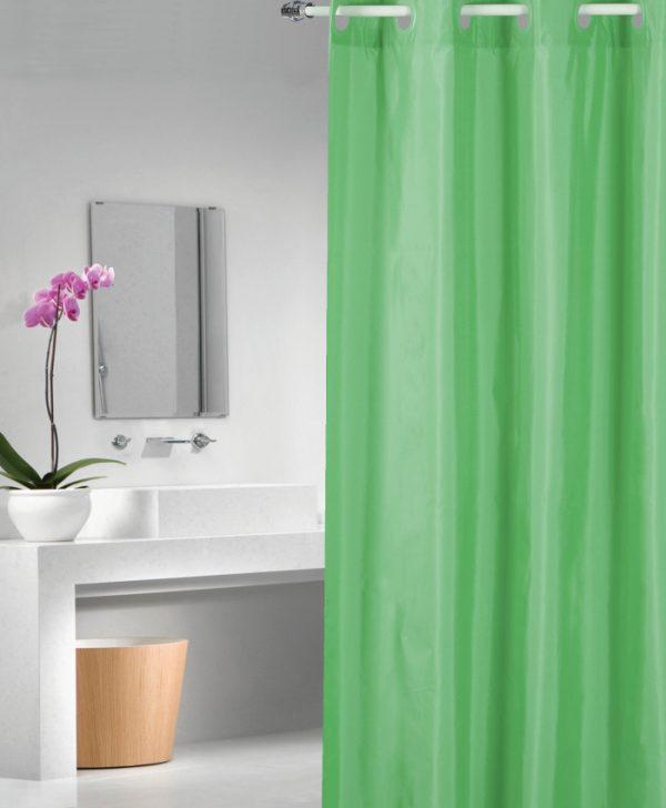 Perdea dus Verde 1040 Magica lisa Verde 180x200 cm