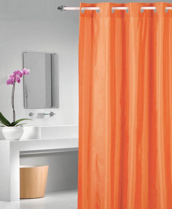 Perdea dus portocalie 1040 Magica lisa Naranja 180x200 cm