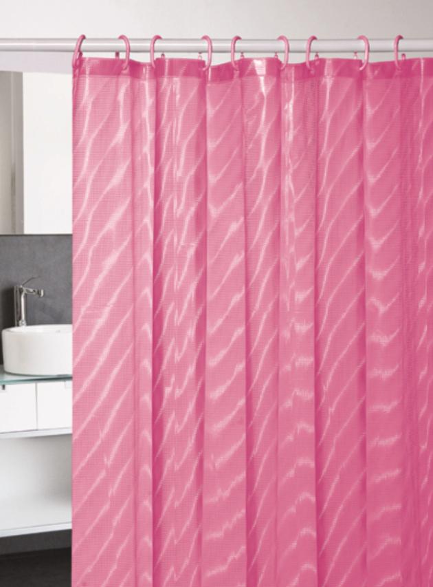 Perdea dus roz transparenta Dunas 108 180x200 cm
