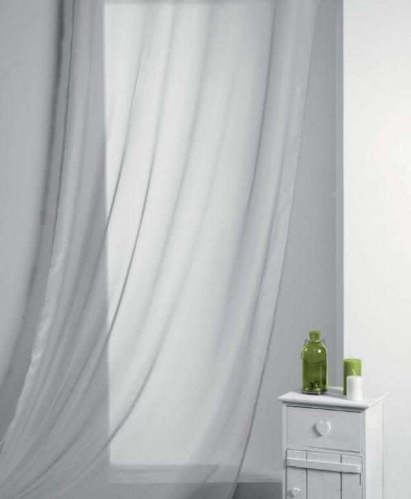 Perdea gri deschis Lisa Perle 135x260 cm
