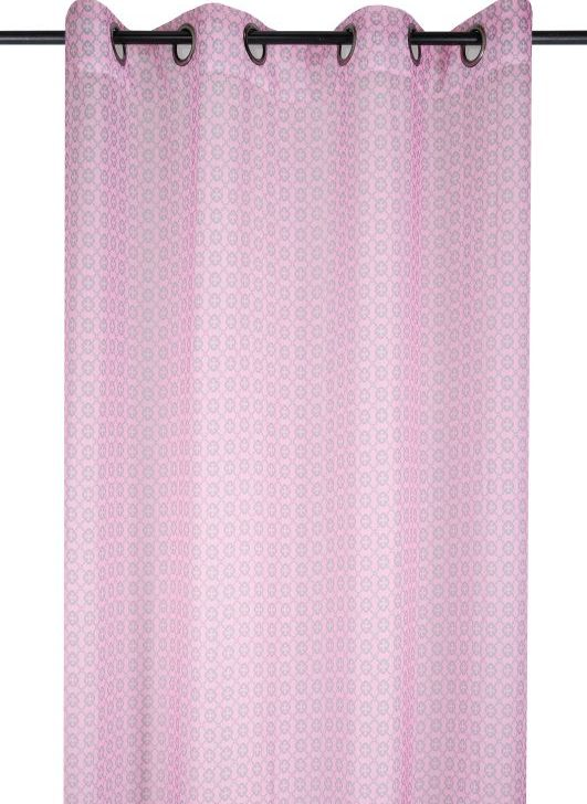 Perdea roz fetite Etalon Rose 135x260 cm