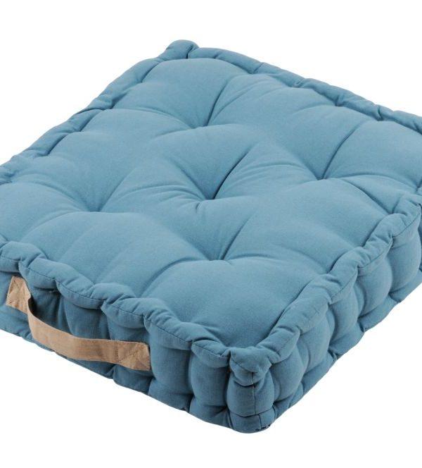 Perna albastra podea Duo Sol Azur Lin 45X45X10 cm