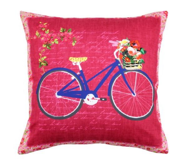 Perna bicicleta albastra Bicycle3 40x40cm