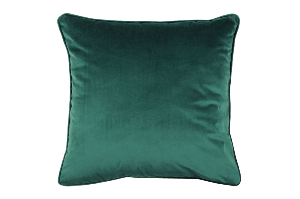 Perna bumbac catifea verde Vienne Emeraude 50x50 cm