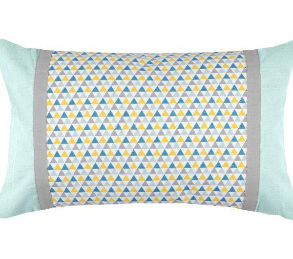 Perna canapea colorată Isocele Celadon 30x50 cm