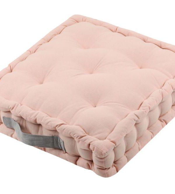 Perna roz podea Duo Sol Poudre Souris 45X45X10 cm