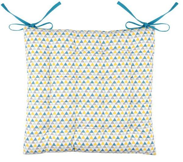 Perna scaun bucatarie colorata Isocele Celadon 40x40 cm