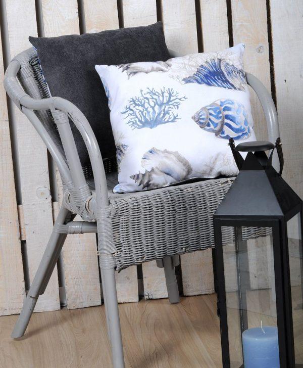 Perna scoici albastre gri Buccin 40x40 cm