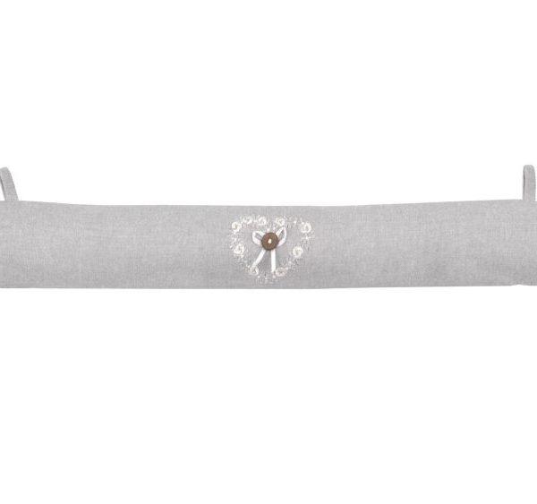Perna usa gri dantela Manoir Gris 10x90 cm
