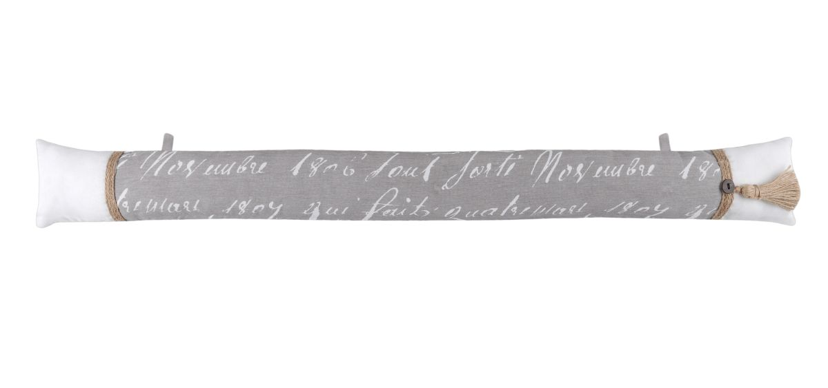 Perna usa gri rustica Margaret 10x90 cm
