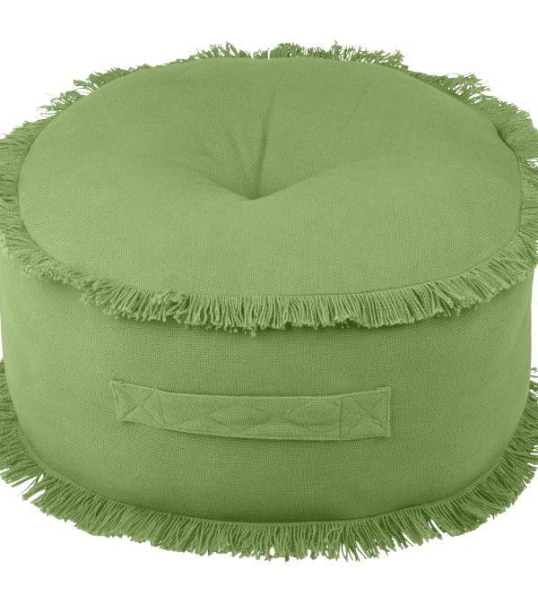 Perna verde rotunda podea Prague Vert 44x20 cm