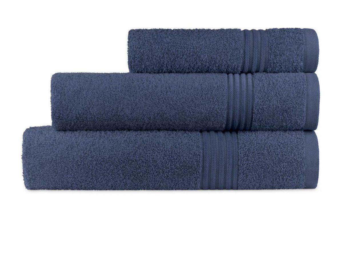 Prosop albastru inchis 70x140 cm bumbac 6005 Calpe Marino (07)