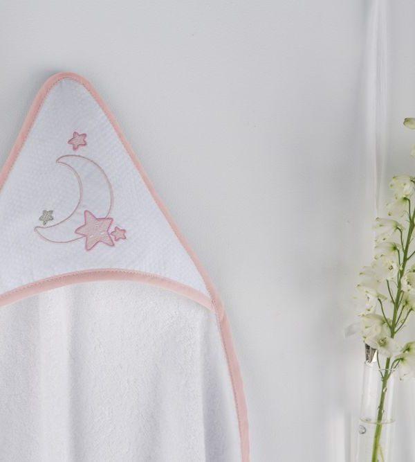Prosop gluga bebe roz luna 1276 63 Rosa 100x100 cm