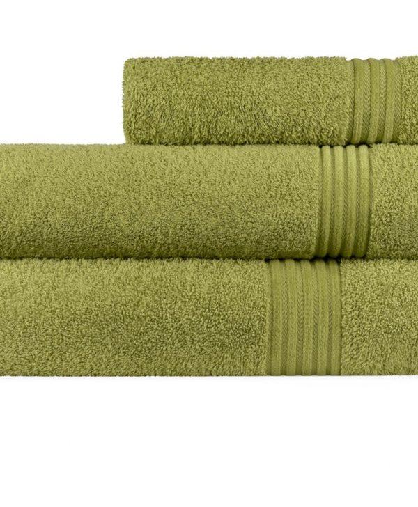 Prosop verde 70x140 cm bumbac 6005 Calpe Verde (03)