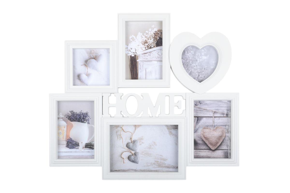 Rama alba foto Home Charline 45X40 cm