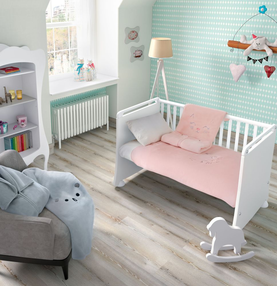 Sac dormit roz bebe Kitty 6225 Rosa 80x90 cm