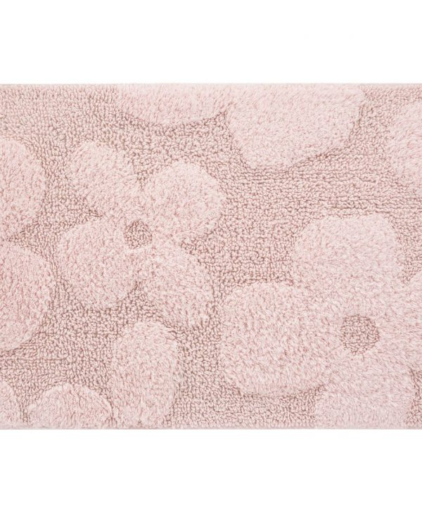 covoras roz baie flori mari 407 Agra