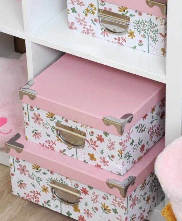 cutii roz fetite depozitare Pimprenelle