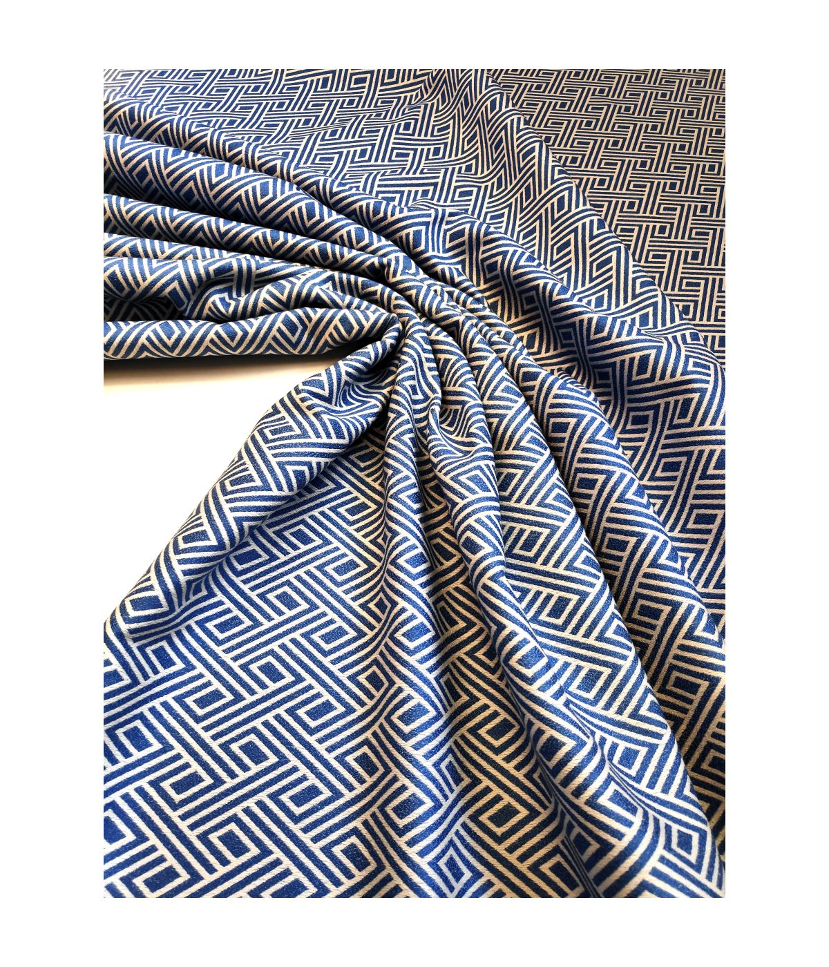 draperii albastre moderne dormitor Tirreno