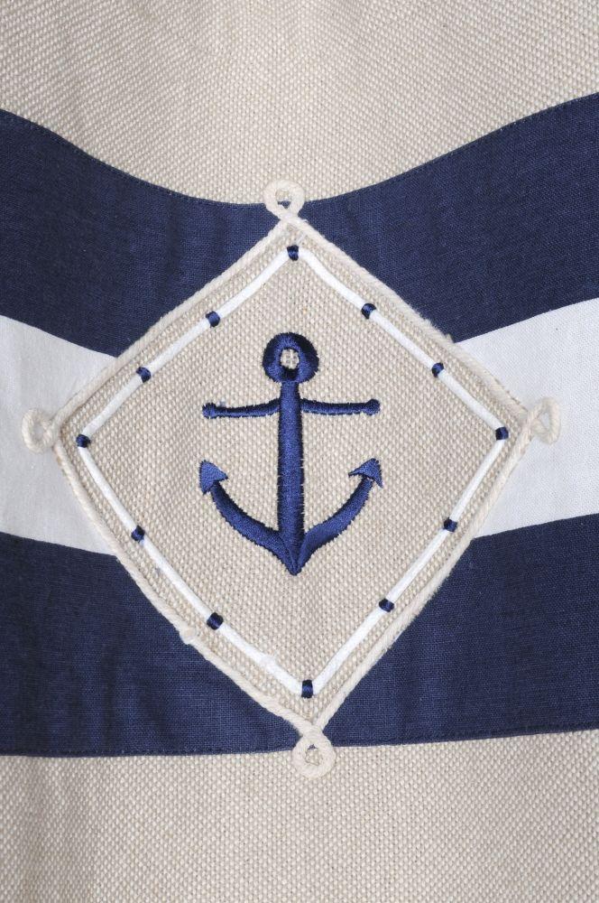 draperii marinaresti bumbac confectionate Olonne Marine