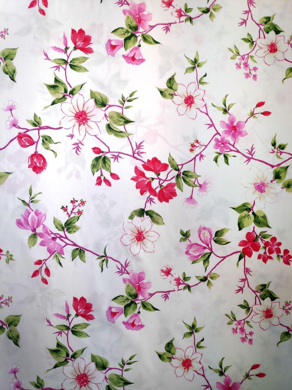 draperie colorata flori multicolore
