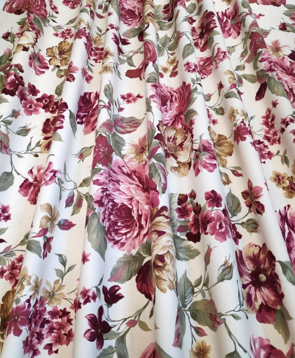 flori mari draperie bej Orleans
