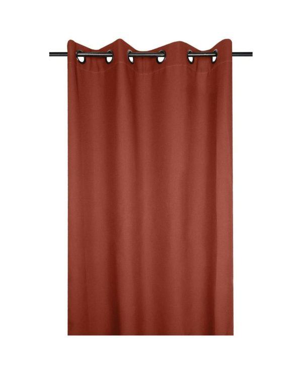 draperie confectionata caramizie Nelson Terracotta