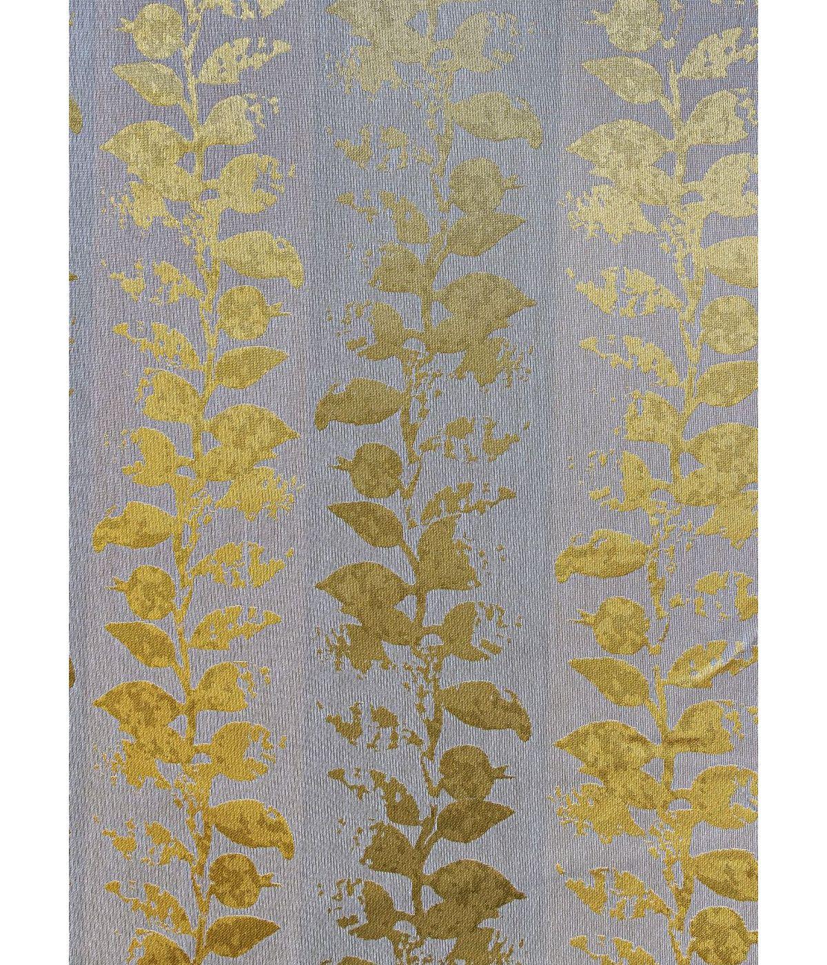 draperie eleganta floricele galbene