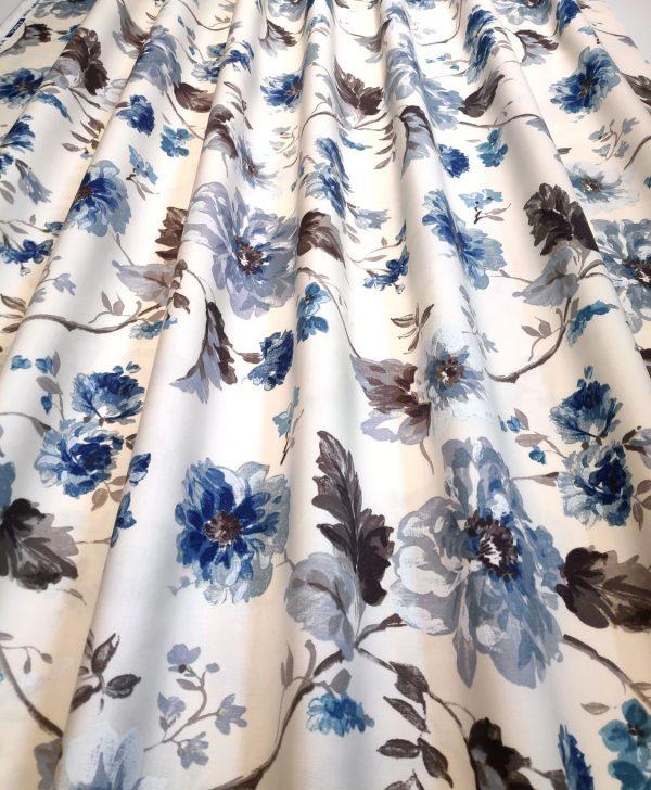 flori albastre draperie Goya