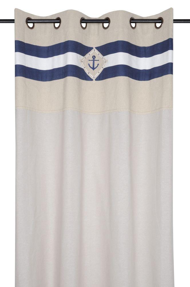 draperie confectionata marinaresca Olonne Marine 140x260 cm