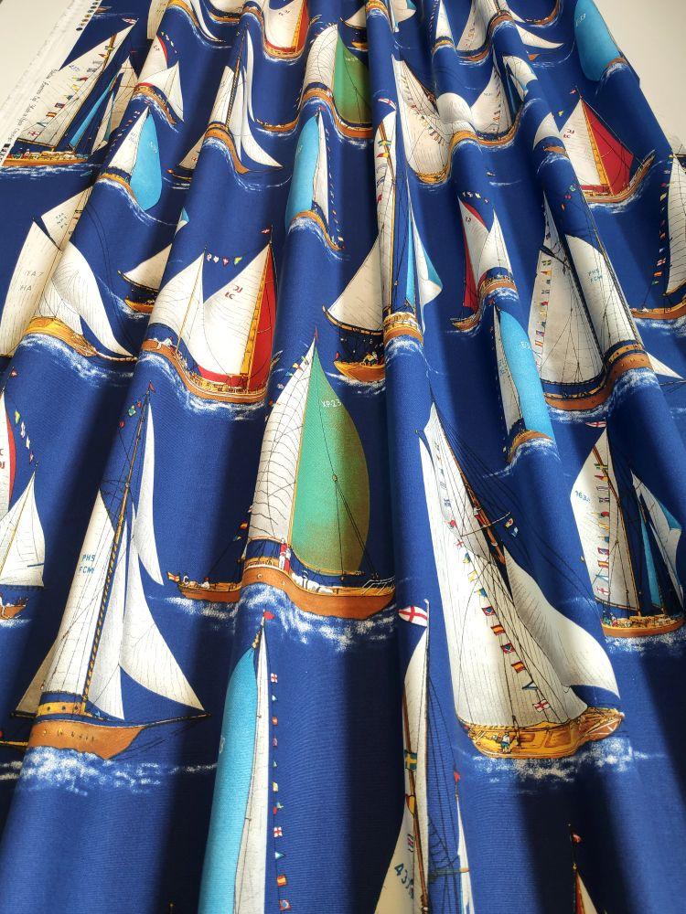 draperie albastra marinareasca Velero
