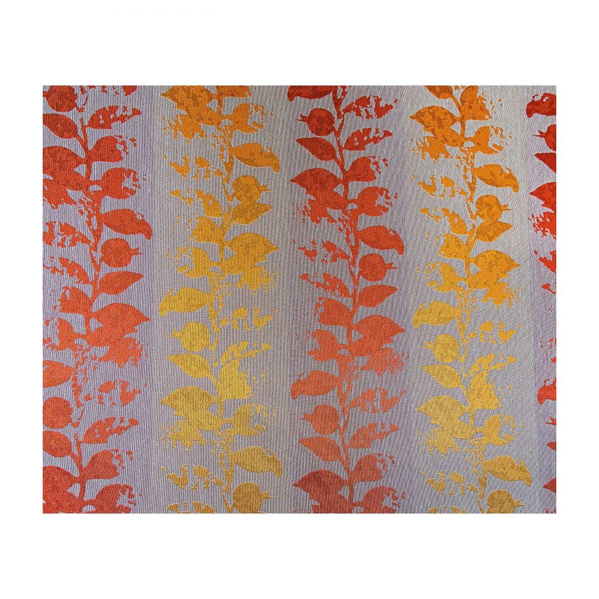 draperie eleganta flori portocalii